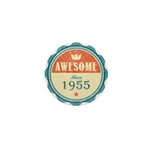 Awesome Since 1955 Mini Button
