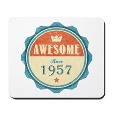 Awesome Since 1957 Mousepad