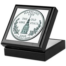Maryland State Quarter Keepsake Box
