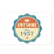 Awesome Since 1957 Postcards (Package of 8)