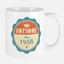 Awesome Since 1958 Mug
