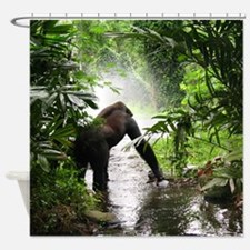 Gorilla Jungle Shower Curtain