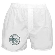 Massachusetts State Quarter Boxer Shorts