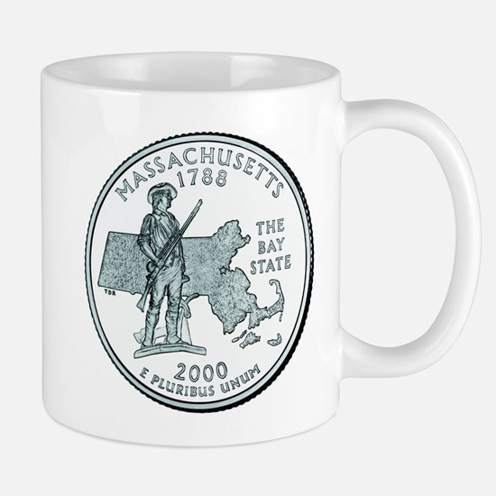 Massachusetts State Quarter Mug