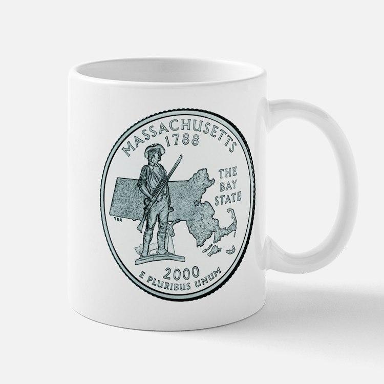 Massachusetts State Quarter Mug