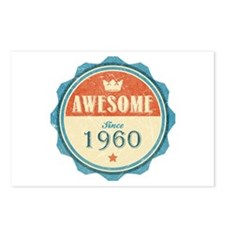 Awesome Since 1960 Postcards (Package of 8)