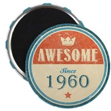 Awesome Since 1960 Magnet