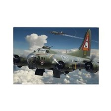 B-17 SUPERFORTRESS Rectangle Magnet