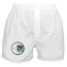 New Hampshire State Quarter Boxer Shorts