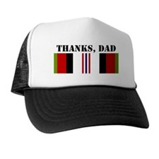 My Dad is an Afganistan War Vet; Thank Trucker Hat