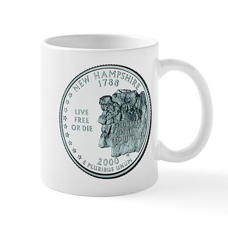 New Hampshire State Quarter Mug