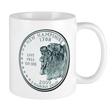 New Hampshire State Quarter Mug