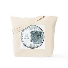New Hampshire State Quarter Tote Bag