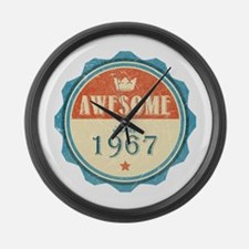 Awesome Since 1967 Large Wall Clock