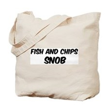 Fish And Chips Tote Bag