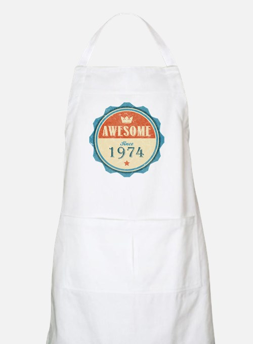 Awesome Since 1974 Apron