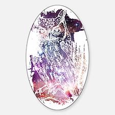 Cosmic Owl Decal