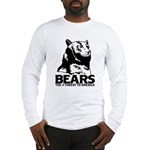 Bears: The #1 Threat to America Long Sleeve T-Shir