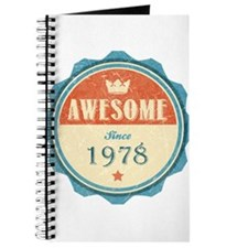 Awesome Since 1978 Journal