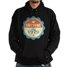 Awesome Since 1979 Dark Hoodie