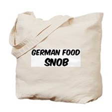 German Food Tote Bag