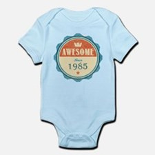 Awesome Since 1985 Infant Bodysuit