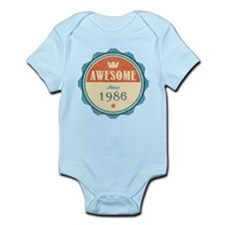 Awesome Since 1986 Infant Bodysuit