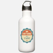 Awesome Since 1986 Water Bottle
