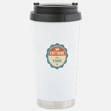 Awesome Since 1986 Travel Mug