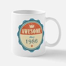 Awesome Since 1986 Mug