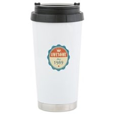 Awesome Since 1989 Travel Coffee Mug