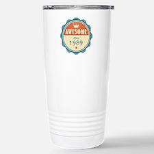 Awesome Since 1989 Travel Mug