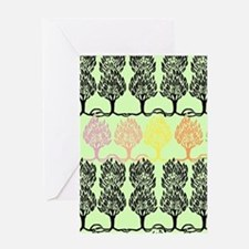 Spring Colors - Beardsley's Trees Greeting Card