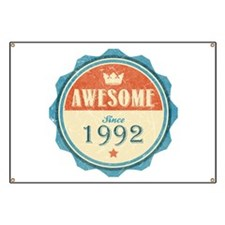 Awesome Since 1992 Banner