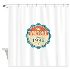Awesome Since 1992 Shower Curtain