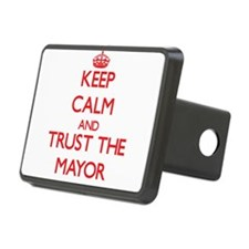 Keep Calm and Trust the Mayor Hitch Cover