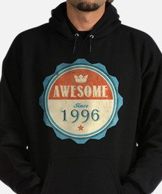 Awesome Since 1996 Dark Hoodie