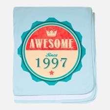 Awesome Since 1997 Infant Blanket
