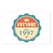 Awesome Since 1997 Postcards (Package of 8)