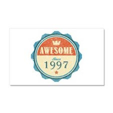 Awesome Since 1997 Car Magnet 20 x 12