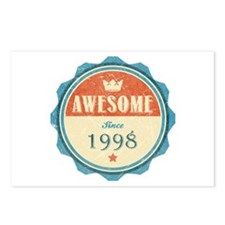 Awesome Since 1998 Postcards (Package of 8)