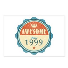 Awesome Since 1999 Postcards (Package of 8)