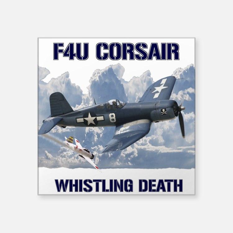 F4U Corsair Whistling Death Sticker