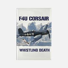 F4U Corsair Whistling Death Magnets