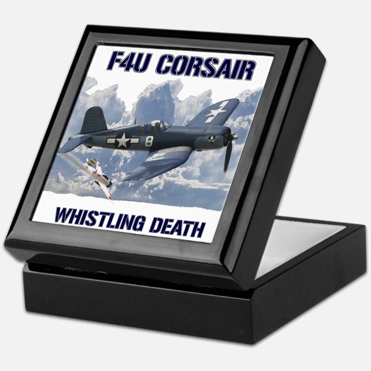 F4U Corsair Whistling Death Keepsake Box