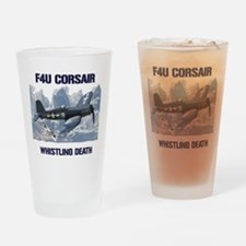 F4U Corsair Whistling Death Drinking Glass