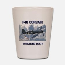 F4U Corsair Whistling Death Shot Glass