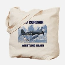 F4U Corsair Whistling Death Tote Bag