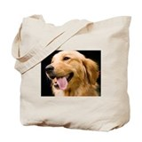 Golden retriever Regular Canvas Tote Bag