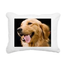 Golden Retriever Rectangular Canvas Pillow